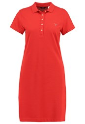Gant The Original Summer Dress Bright Red