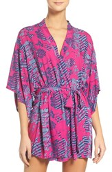 Josie Women's Solstice Happi Coat Robe Purple Purple