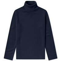 Bleu De Paname Cousteau Roll Neck Knit Blue