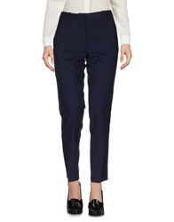 Pomandere Casual Pants Dark Blue