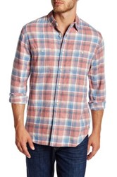 Lucky Brand Long Sleeve Western Plaid California Fit Shirt Multi