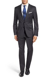 Boss Men's 'Ryan Win' Trim Fit Solid Wool Suit