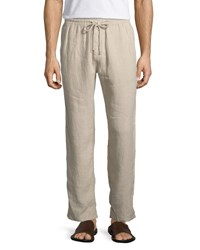 Pacha Linen Drawstring Trousers - BlueVilebrequin chaud Magasin De Destockage Offre 7qmN6U