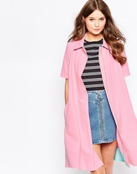 Traffic People Pillow Talk Summer Nights Coat Pink