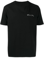 Unravel Project Logo Printed T Shirt Black