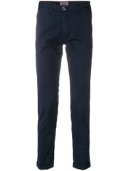 Re Hash Casual Chinos Blue