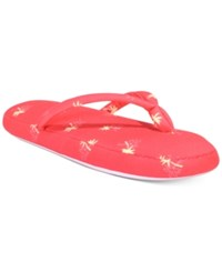 Charter Club Printed Slippers Only At Macy's Palm Trees