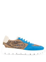 Etro Low Top Sneakers Blue