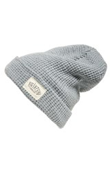 Brixton Women's Borrego Slouchy Beanie Grey Light Grey