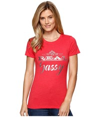 Ariat Real Sassy Top Red Women's T Shirt