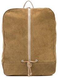 Daniel Patrick Roamer Backpack Men Suede One Size Brown