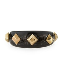 Ashley Pittman Tamasha Horn Cuff Bracelet Dark Horn