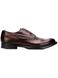 Officine Creative Classic Oxford Shoes Brown