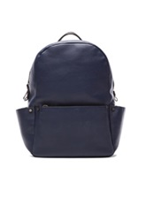Calvin Klein Collection Utility Backpack In Blue