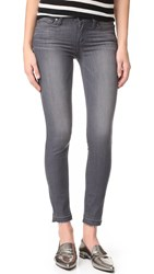 Paige Verdugo Ankle Jeans With Undone Hem London Grey