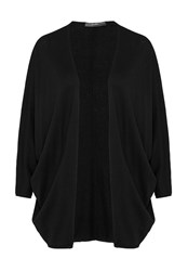 Hallhuber Oversized Cardigan With Dolman Sleeves Black