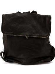Guidi Leather Backpack Black