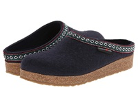 Haflinger Gz Classic Grizzly Navy Clog Shoes