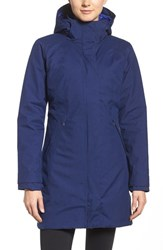 Patagonia Women's 'Vosque' 3 In 1 Parka Navy Blue