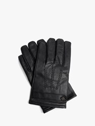 Ted Baker Leather Gloves Black