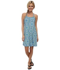 Prana Quinn Dress Blue Gardenia Women's Dress