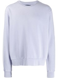 Natural Selection Round Neck Jumper Purple
