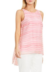 Vince Camuto Petite Graceful Phrases Sleeveless Top Rossetto