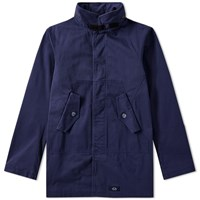Bleu De Paname Fatigue Jacket Blue