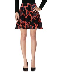Paul Smith Ps By Knee Length Skirts Red