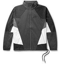 Nike Sportswear Re Issue Colour Block Nylon Ripstop Track Jacket Gray