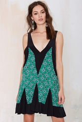 Nasty Gal Vintage Balenciaga Sonia Silk Dress