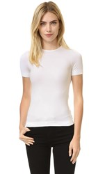 Helmut Lang Short Sleeve T Shirt Optic White
