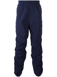 Msgm Elasticated Waist Trousers Blue