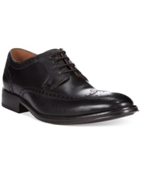 Bostonian Greer Wing Tip Oxfords Men's Shoes Black