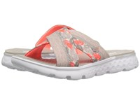 Skechers On The Go 400 Tropical Natural Coral Women's Sandals Multi