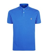 Polo Ralph Lauren Slim Fit Mesh Shirt Male Blue