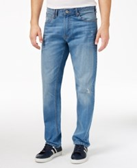 Sean John Men's Diagonal Seam Pocket Jeans Light Pkt