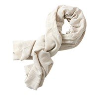 Betty And Co. Long Textured Scarf Grey Nature