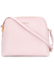 Furla Boeme Crossbody Bag Pink And Purple