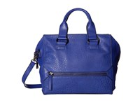 French Connection Bridget Satchel Monarch Blue Satchel Handbags