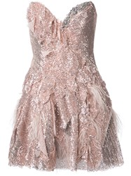 Trash Couture Morano Crystal Dress Metallic
