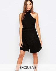 Finders Keepers Exclusive Lay It Down Dress In Black Black