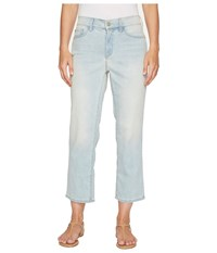 Nydj Marilyn Relaxed Capris In Cote Sauvage Cote Sauvage Women's Jeans Blue
