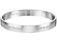 Kate Spade Idiom Bangles Engraved Bangle Magic Silver Bracelet