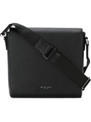 Michael Kors Flap Closure Shoulder Bag Black