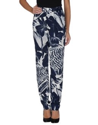 Essentiel Casual Pants Dark Blue