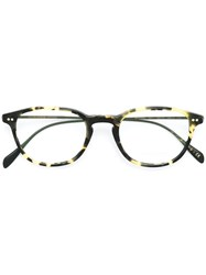 Oliver Peoples 'Heath' Glasses Black