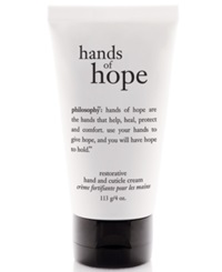 Philosophy Hope Hand And Cuticle Cream 4 Oz. No Color