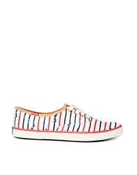 Keds Bow Stripe Taylor Swift Plimsoll Trainers Multi