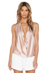 Ramy Brook Harriet Halter Tank Blush
